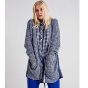 Banana Republic/ Blue Marled Knit Cardigan